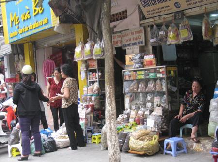 Phố thuốc bắc ở Hà Nội
