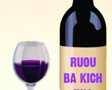 Rượu ba kích màu tím