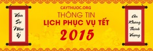 LICH NGHI TET