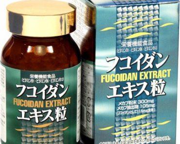 Thực phẩm chức năng chiết xuất từ Tảo nâu: Fucoidan