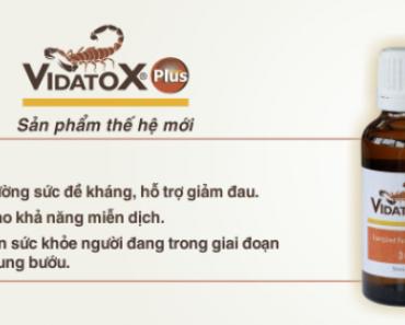 cách dùng vidatox