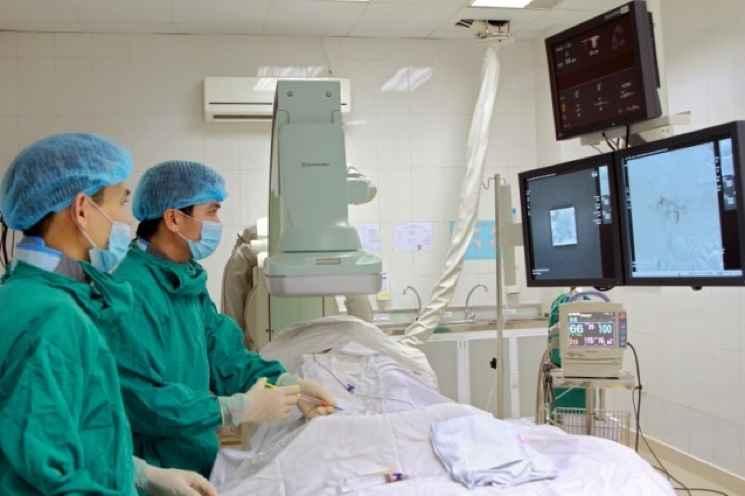 Điều trị ung thư gan bằng phương pháp TOCE