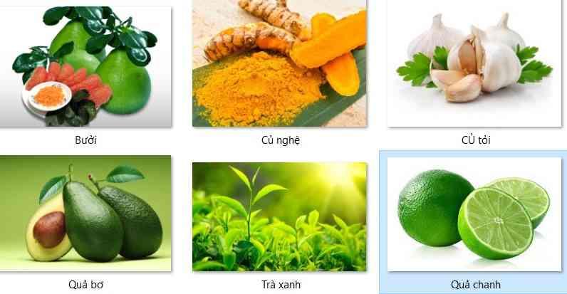 6 thực phẩm tốt cho gan