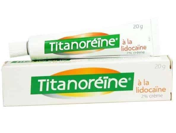 Titanoreine kem bôi trĩ
