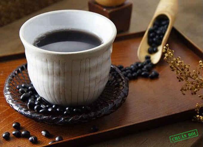 Cách dùng đậu đen dạng trà