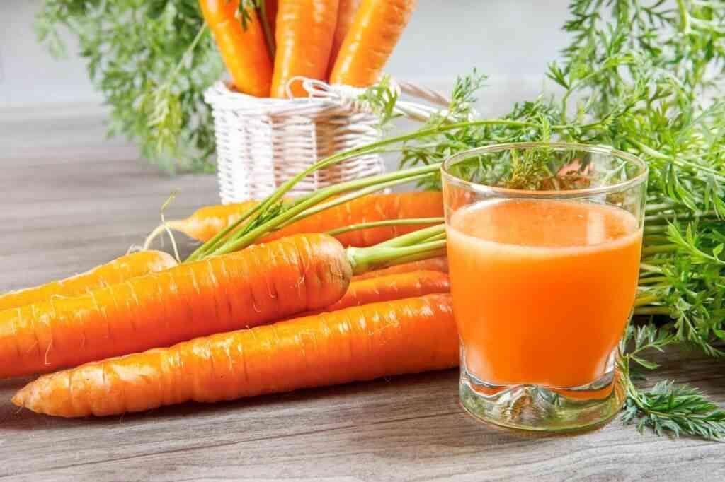 công dụng của củ cà rốt, nước ép cà rốt