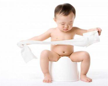 Cách trị táo bón ở trẻ em