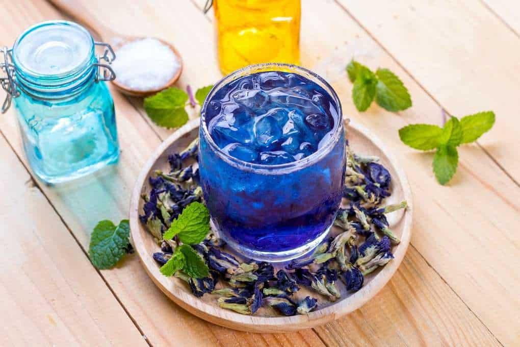 Nước uống hoa đậu biếc