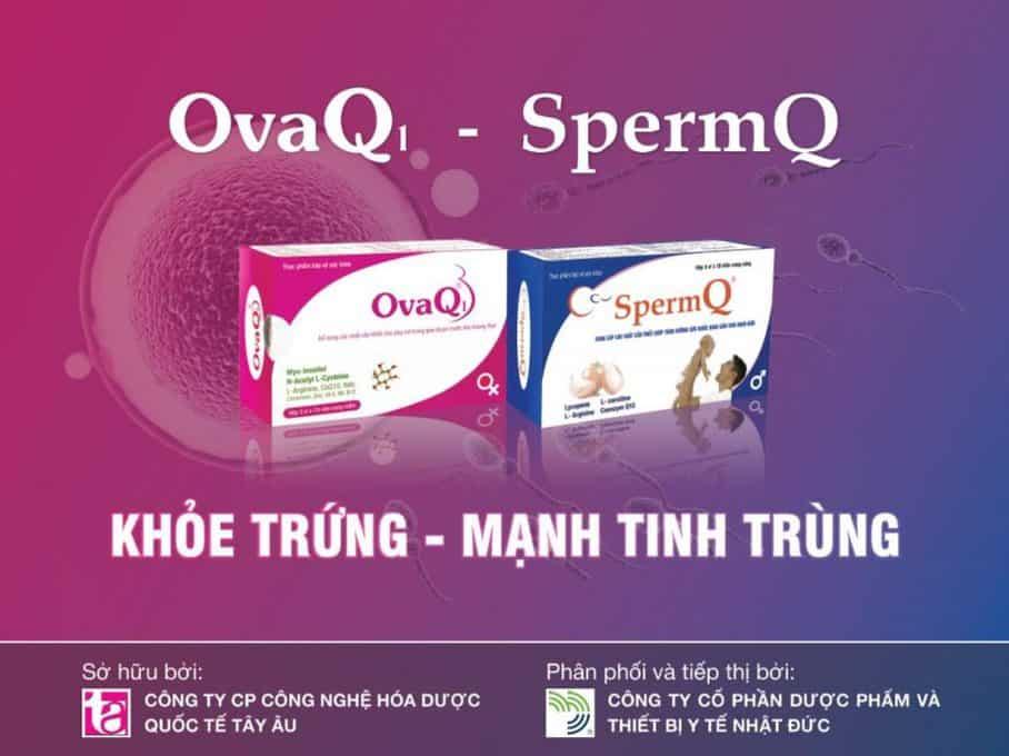 Sở hữu và phân phối sản phẩm SpermQ và OvaQ1
