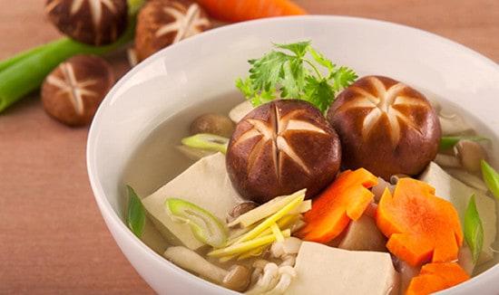 Nấm đông cô - tàu hủ, sự kết hợp tuyệt vời cho các món ăn chay