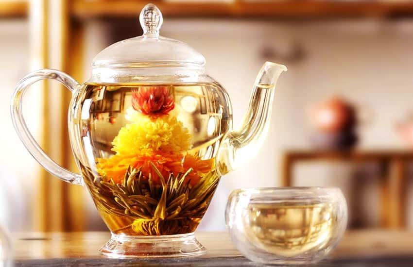 Trà hoa cũng là một loại nghệ thuật Cách pha trà hoa thanh nhiệt