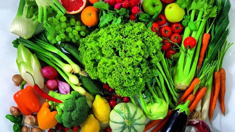 Rau quả xanh mang lại nhiều lợi ích cho sức khỏe