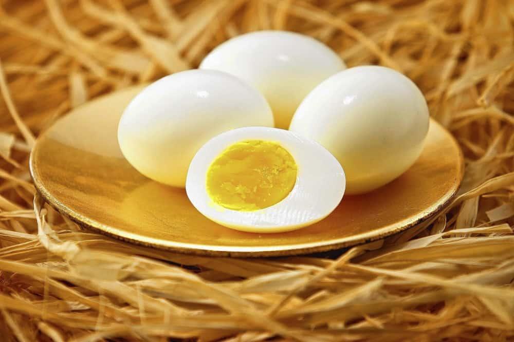 Lòng đỏ trứng gà (đã luộc)