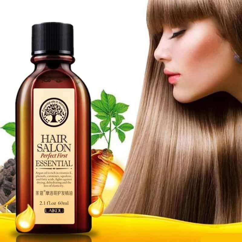 Dầu argan có mặt trong nhiều sản phẩm chăm sóc tóc