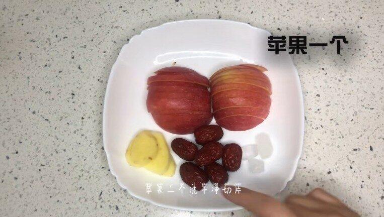 Nguyên liệu nấu Nước uống giảm cân (táo đỏ, táo tây, gừng)